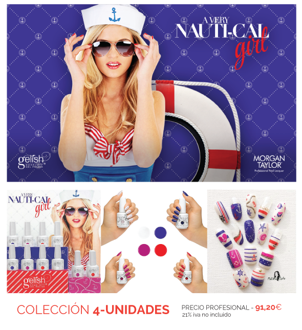A Very Nautical Girl - Colección 2016 de HARMONY Gelish